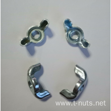 M10 Carbon Steel Zinc Plating Wing Nuts
